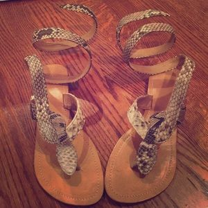 Shoes - Handmade genuine snakeskin shoes from Bali