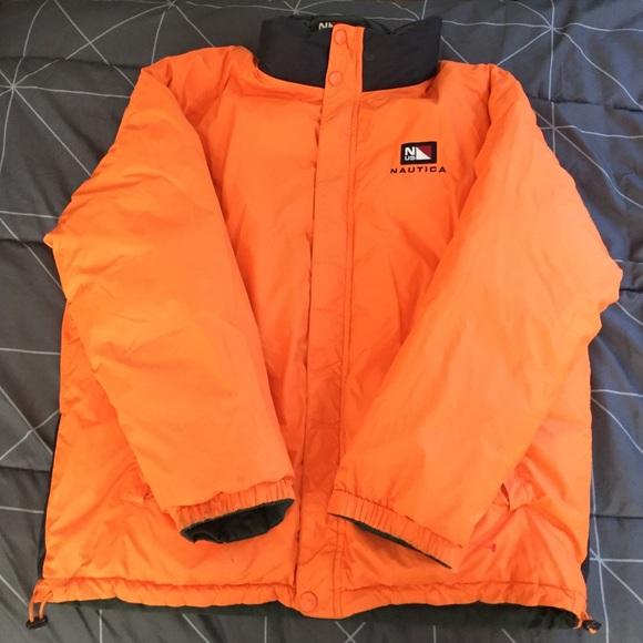 Nautica Jackets Coats Vintage Reversible Jacket Poshmark