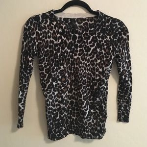 J. Crew Sweaters - J. Crew Leopard Print Sweater