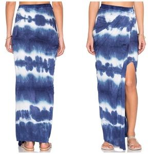 Young Fabulous & Broke Dresses & Skirts - YF&B Navy Stripe Wash Kit Skirt