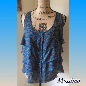 Mossimo Supply Co. Tops - Mossimo Tier Ruffles Top