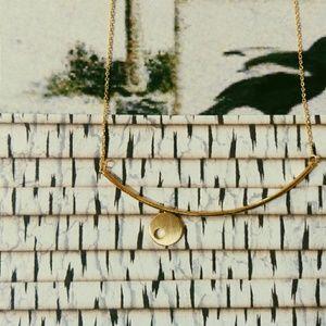 Jewelry - Geometric Pendant Necklace