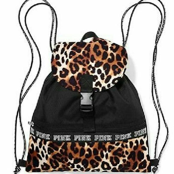 40% off PINK Victoria's Secret Handbags - Vs PINK Leopard Cheetah ...