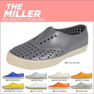 "Native Shoes - Native ""Miller"" shoe - discontinued color"