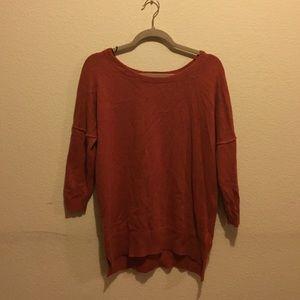 H&M Burnt Orange Sweater
