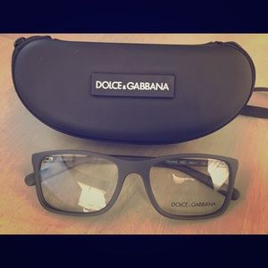 Gray D&G eyeglasses