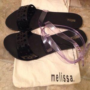 Melissa Shoes - Melissa wrap around jellys