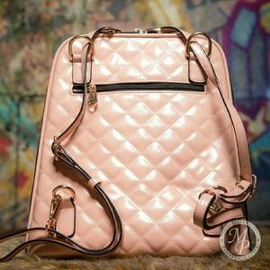 Satchel, backpack- Blush