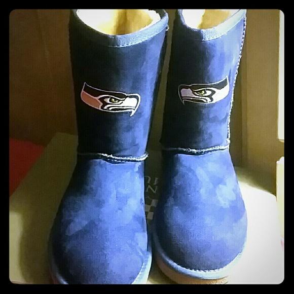 Seattle Seahawks NFL boots de7ca7e7039