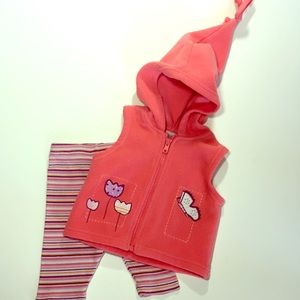 Other - Winter Hooded Vest outfit