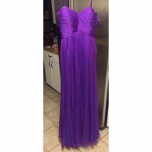 Stunning Purple Evening Gown/Bridesmaid Dress!