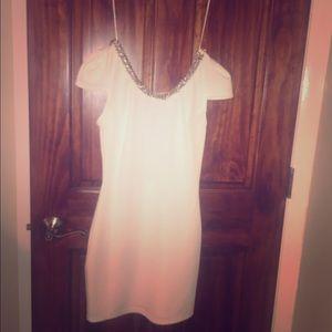 White dress , mini , size small , Windsor