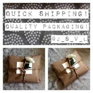Quick Shipping! Quality Packaging!