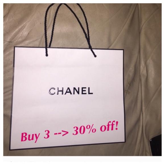 b3295d953b9f CHANEL Accessories | Authentic White Gift Bag | Poshmark
