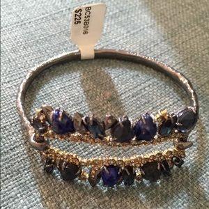 Alexis Bittar Jewelry - New Alexis Bittar rhinestone studded bangle