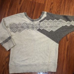 Urban Outfitters Gray & White sweater.