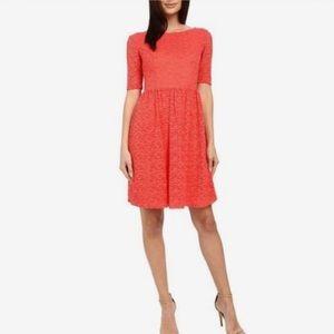 Jessica Simpson Dresses & Skirts - Jessica Simpson coral peach lace dress