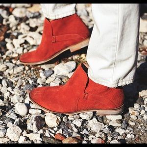 Free People Summit Ankle Boot Terra Cotta NEW