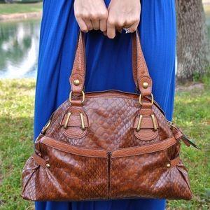 "Handbags - Brown ""croc"" handbag"