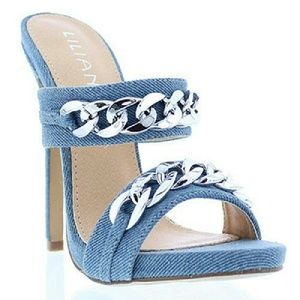 Liliana Shoes - 100 Lory Denim Heels