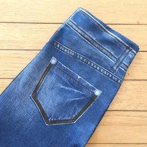 West Loop Pants - 2/$5 * Faux Denim Leggings