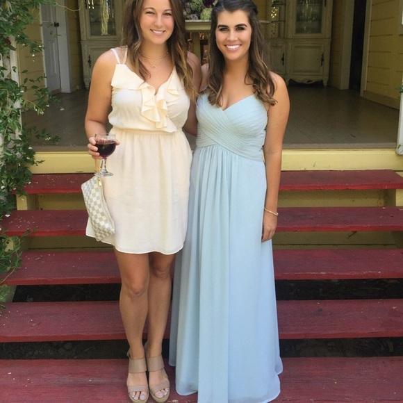 2811bce2ce9 Azazie Dresses   Skirts - ON HOLD! Azazie Haleigh gown in Mist