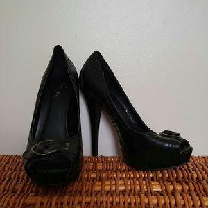 Paprika Shoes - Pinup Style Heels sz 10