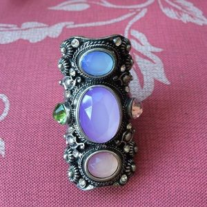 Jewelry - Jeweled knuckle ring.