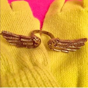 Other - Bronze Angel Wings Ring
