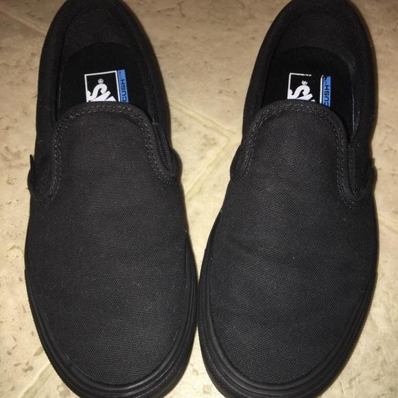 Black Slip On Light Weight Vans | Poshmark