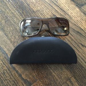 Oliver Peoples Brown Sunglasses