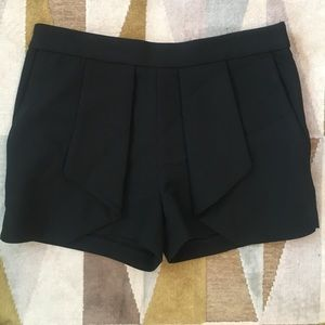Zara Basic Black Shorts