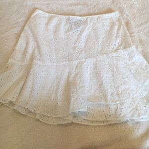 Banana Republic eyelit  mini skirt