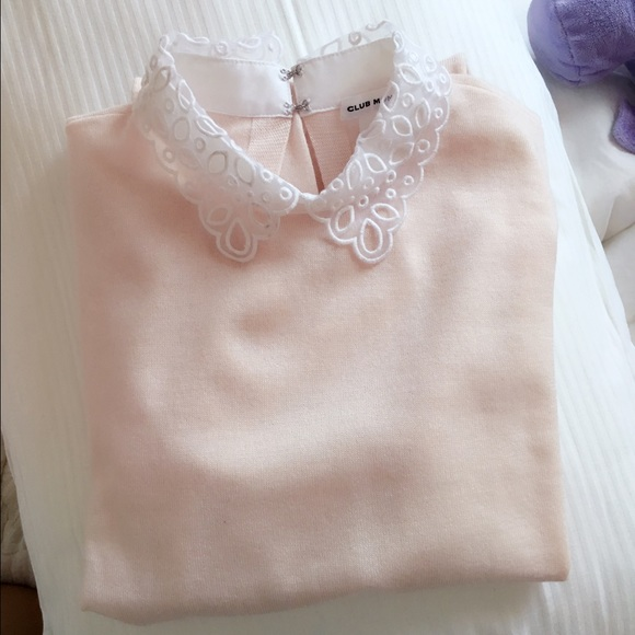 17% off Club Monaco Sweaters - Club Monaco - Peter Pan Collar ...