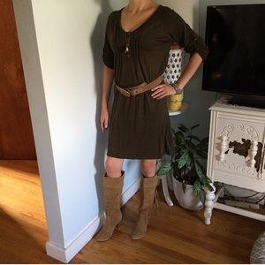 Emu Dresses & Skirts - Emu brown dress.