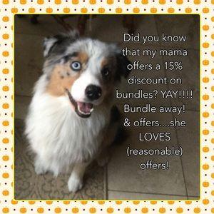 Hi! I'm Dixie! And my mom loves bundles!!!!