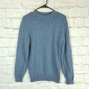 !$5 SALE! {Vintage} Blue Shetland Wool Sweater M