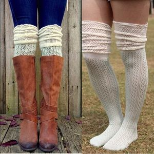 Thigh High Socks • 2 for $30 or 3+ for $12 each
