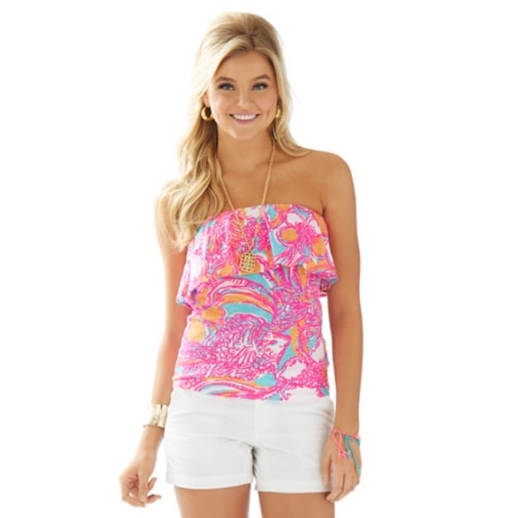 e0a08f5e1a Lilly Pulitzer Tops - NEW Lilly Pulitzer tube top!