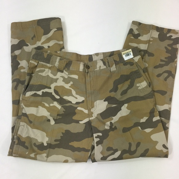 Outdoor Life Mens Fleece-Lined Cargo Pants Size 38x32