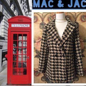 Mac & Jac houndstooth coat