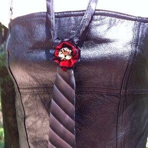 Zip- tie boho necklace
