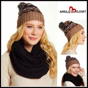 Boutique Accessories - ❗1-HOUR SALE❗2 Piece Set Beanie & Infinity Scarf