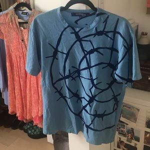 Junya Watanabe Tops - JUNYA WATANABE CDG Barbed Wire T Shirt