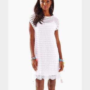 Brand new Lilly Pulitzer white lace dress