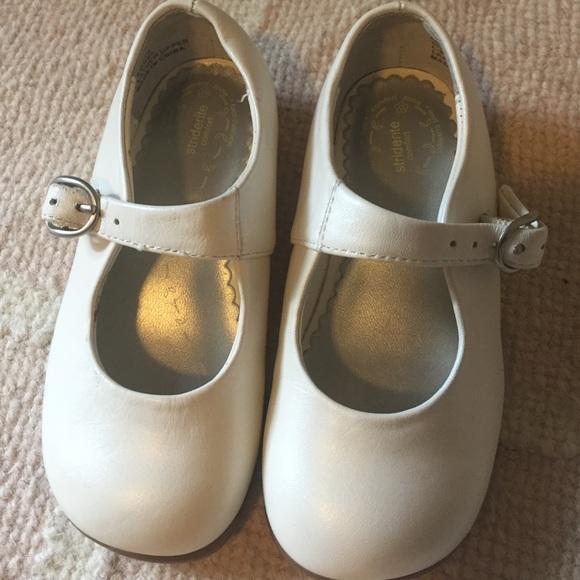 Stride Rite Shoes | White Toddler Girl