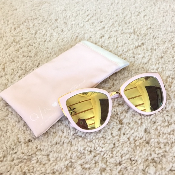 6672f097c507f QUAY x Too Faced LIMITED EDITION Pink Sunglasses. M 57d1ddcc4e95a3db33007079