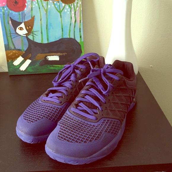 Purple Reebok CrossFit Nano 4 Training Sneakers 9.  M 57d1df84ea3f365e1400711c 378736a46
