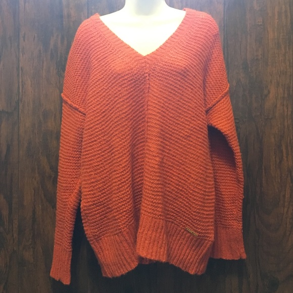 85% off MICHAEL Michael Kors Sweaters - Michael Kors burnt orange ...