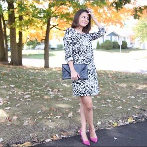 J.Crew Jules dress in snowcat